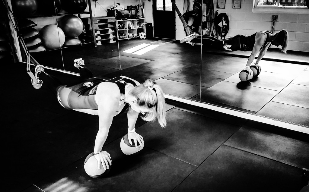 TRX and Ball aerial